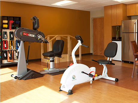 Communicare's state-of-the-art exercise equipment