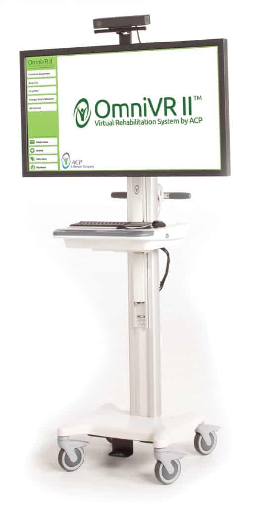 OmniVR™ virtual rehabilitation system